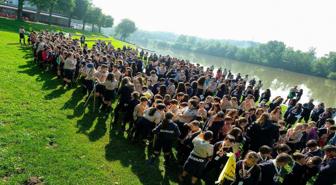 ACANUC. Mais de 500 escuteiros na Vila de Prado para o acampamento do Núcleo de Vila Verde!
