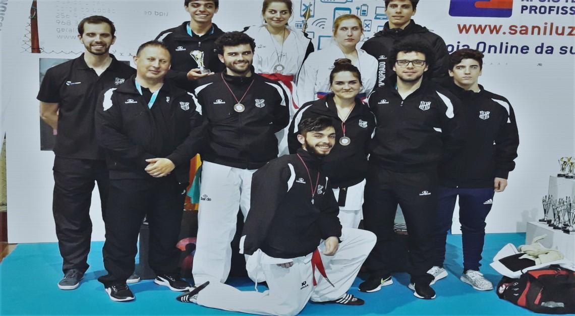 Taekwondo. GD Prado conquista oito medalhas no Open Internacional de Canedo!