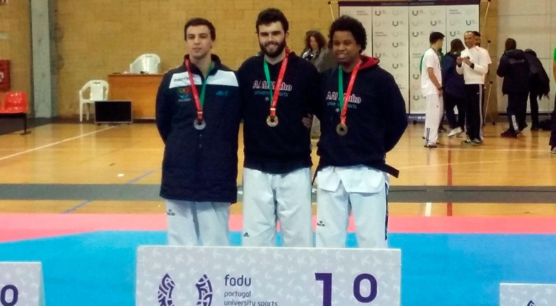 Ricardo Gomes é Campeão Nacional Universitário de Taekwondo