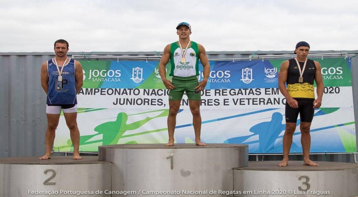 Clube Náutico de Prado conquistou duas medalhas de ouro no Campeonato Nacional de Regatas em Linha