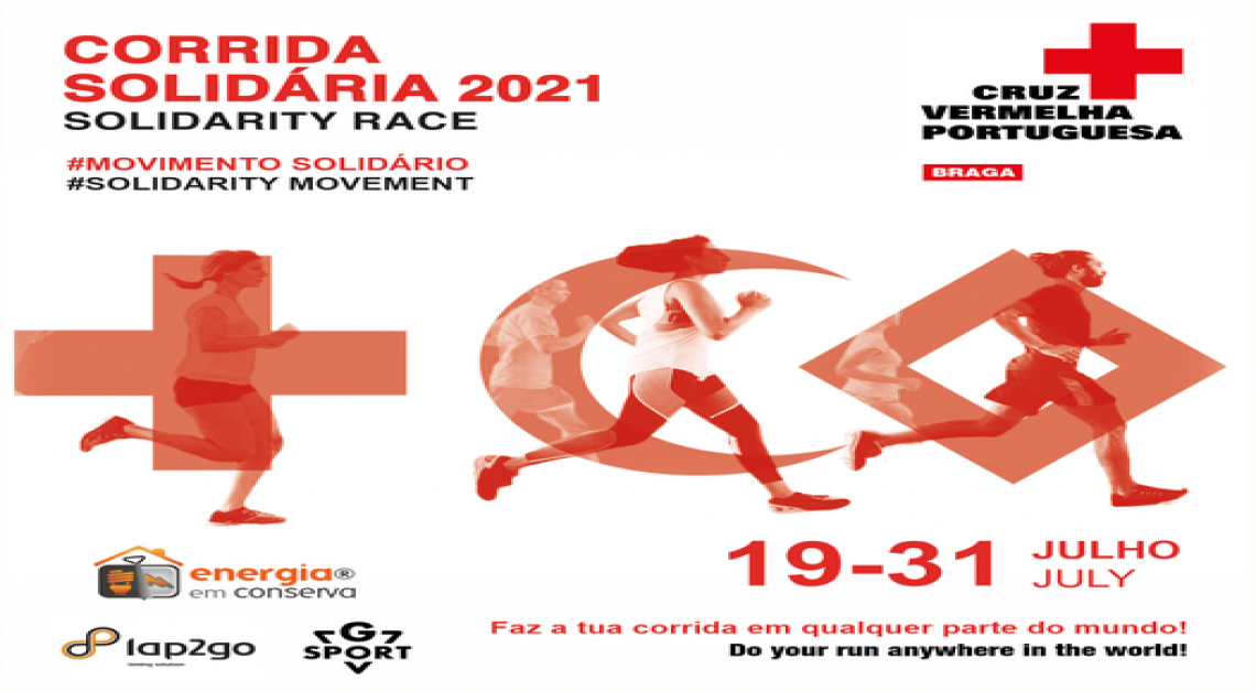 Corrida Solidária da Cruz Vermelha. Inscrições abertas para a 6ª edição em formato virtual