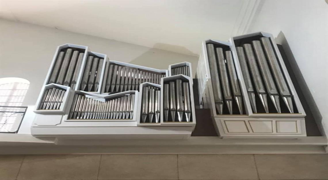 Igreja Paroquial. Novo órgão de tubos inaugurado com dois concertos