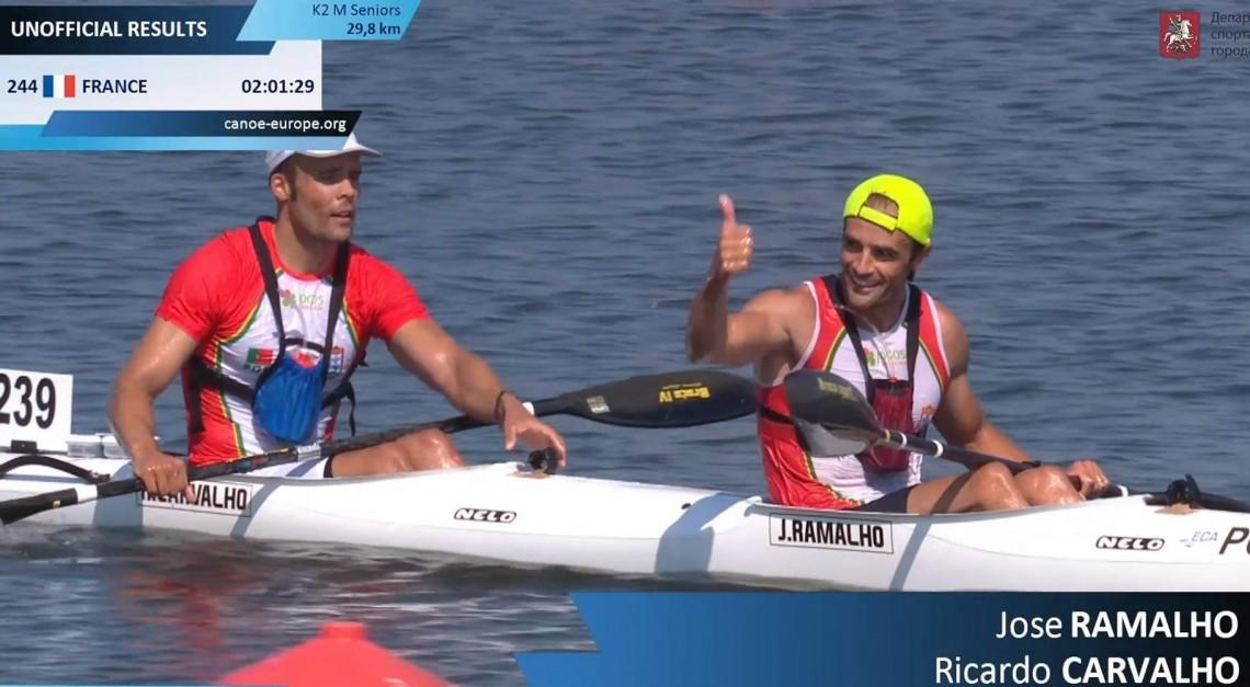 Campeonato da Europa de Maratona. José Ramalho e Ricardo Carvalho trazem ouro e prata para casa