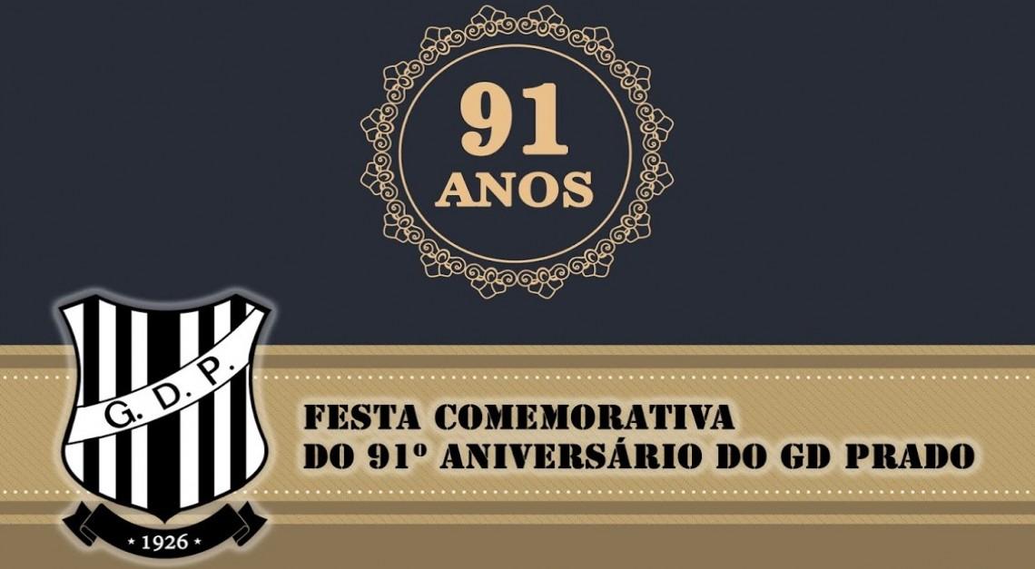 Inscrições abertas para as comemorações do 91º aniversário do Grupo Desportivo de Prado