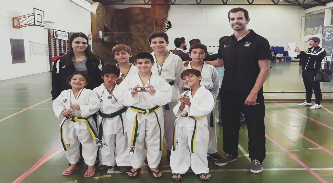 GD Prado: Secção de Taekwondo conquistou oito medalhas em Esposende!