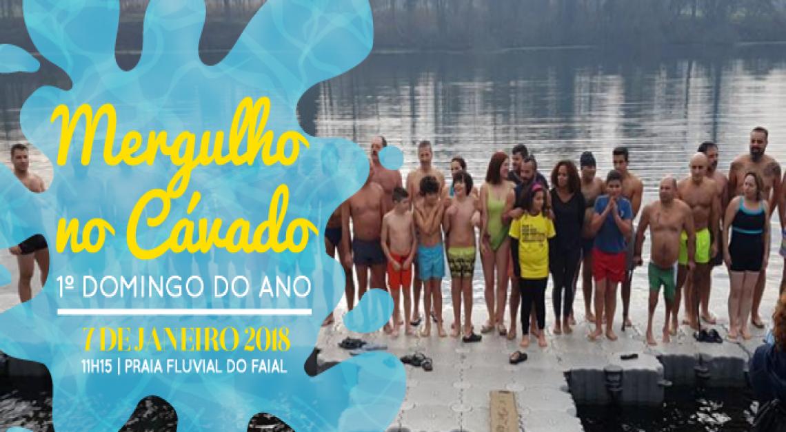 A Vila de Prado recebe o novo ano com um Mergulho no Cávado!